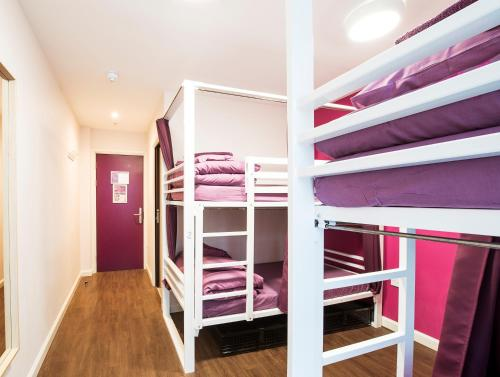 A bunk bed or bunk beds in a room at Safestay London Elephant & Castle
