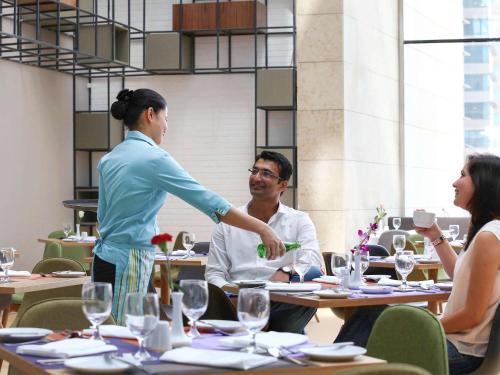 Restaurace v ubytování Ibis Styles Dubai Jumeira