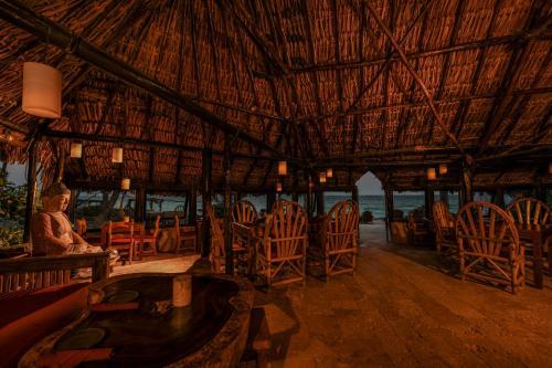 Restaurant ou autre lieu de restauration dans l'établissement Diamante K
