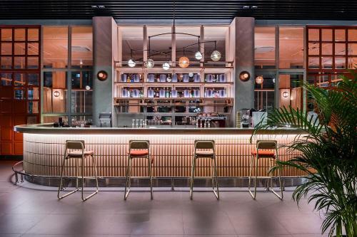 The lounge or bar area at Craftsman Bangkok
