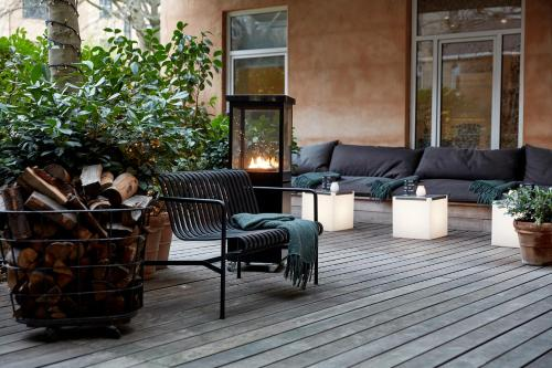 A seating area at Avenue Hotel Copenhagen by Brøchner Hotels