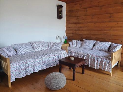 Posezení v ubytování Sport-hotel Šibeniční vrch