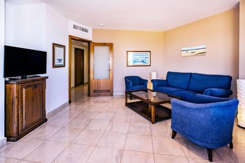 Zona de estar de Sunway Playa Golf & Spa Sitges