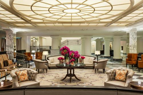 The lobby or reception area at InterContinental New York Barclay Hotel, an IHG Hotel