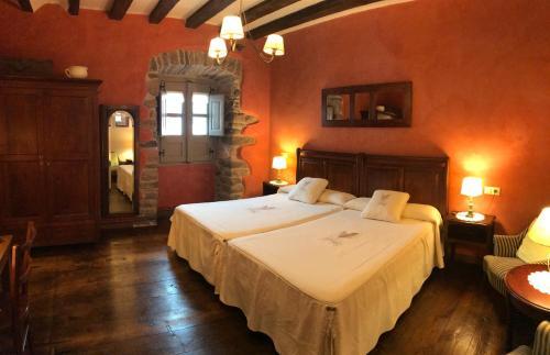 Cama o camas de una habitación en Casa Rural Zigako Etxezuria
