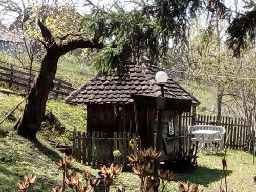 Zgrada u kojoj se nalazi smeštaj na selu