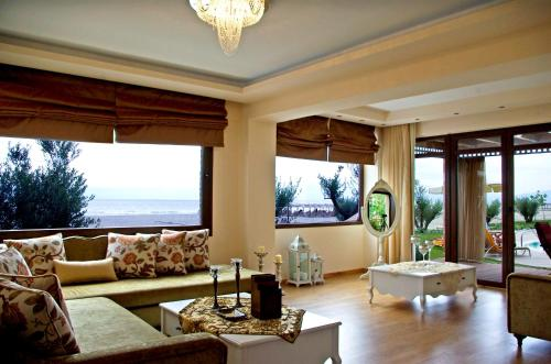 A seating area at Mediterranean Village Hotel & Spa