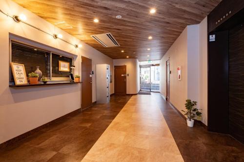 The lobby or reception area at Apartment Sun Bright Shinagawa