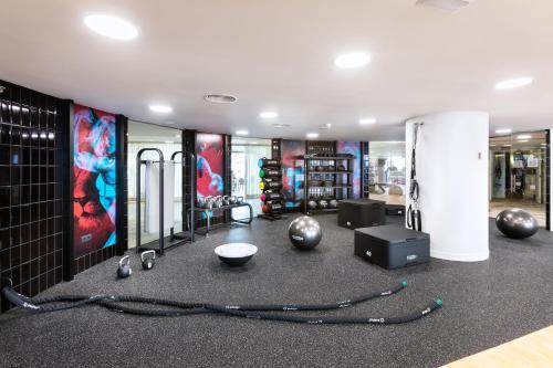 Het fitnesscentrum en/of fitnessfaciliteiten van Tigotan Lovers & Friends Playa de las Americas - Adults Only (+18)