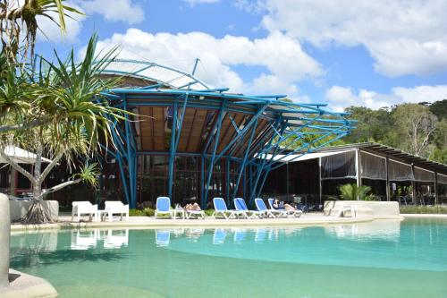 The swimming pool at or near Kingfisher Bay Resort