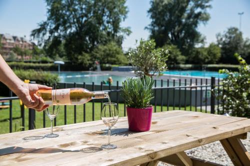 Het zwembad bij of vlak bij WestCord Art Hotel Amsterdam 4 stars