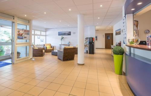 The lobby or reception area at Résidence Pierre & Vacances Eguzki