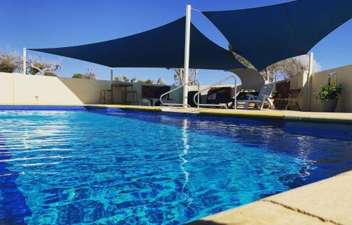 The swimming pool at or near Sunset Beach Holiday Park
