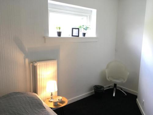 Een bed of bedden in een kamer bij Sleep & Go Copenhagen