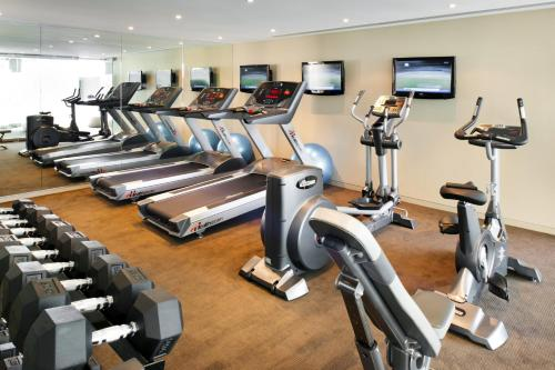 The fitness center and/or fitness facilities at Art Series - The Olsen