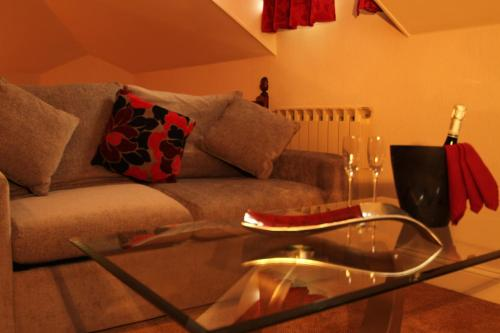 A seating area at The Inn Boutique Hotel Bar and Restaurant