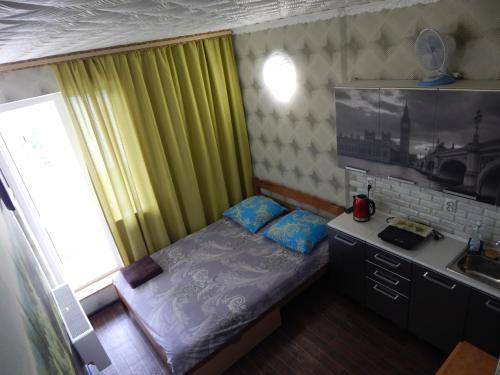 Кухня или мини-кухня в Apartment-studio Royal Forest