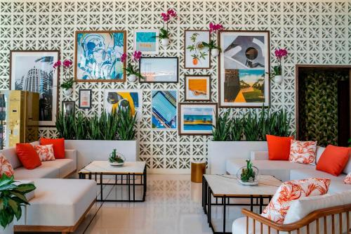 The lobby or reception area at The Dalmar, Fort Lauderdale, a Tribute Portfolio Hotel