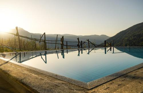 The swimming pool at or near Hotel Niedermair