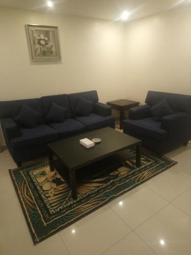 Uma área de estar em Lamssat El saada