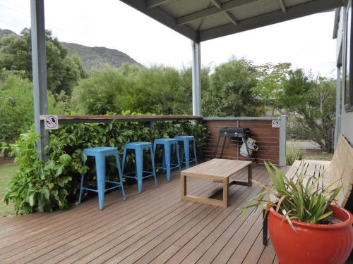 A balcony or terrace at Dacelo