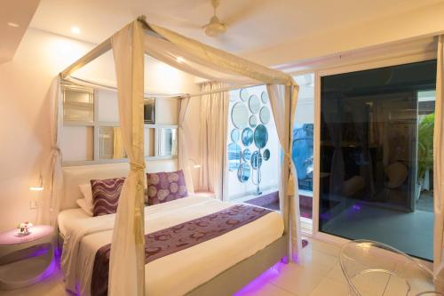 A bunk bed or bunk beds in a room at The Park Calangute Goa
