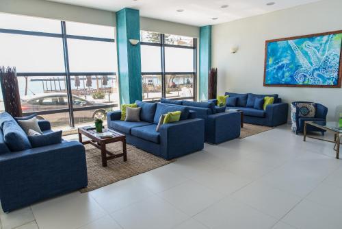 Гостиная зона в Hotel Ostria