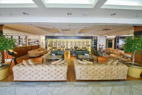 The lobby or reception area at Mediteran Hotel & Resort