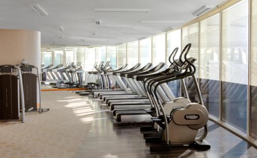 The fitness center and/or fitness facilities at InterContinental Dubai Festival City, an IHG Hotel