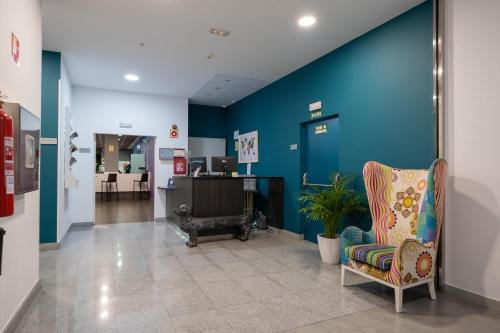 The lobby or reception area at Hotel Abades Via Norte