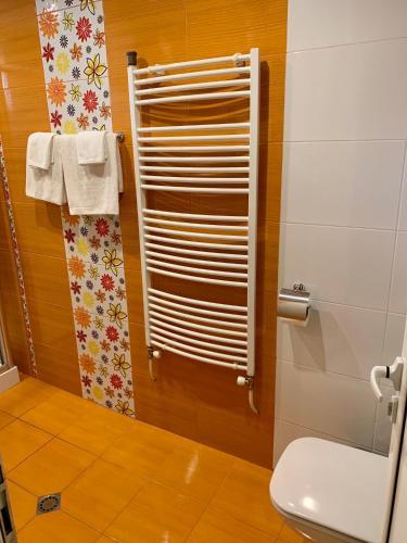 A bathroom at Hotel Elena