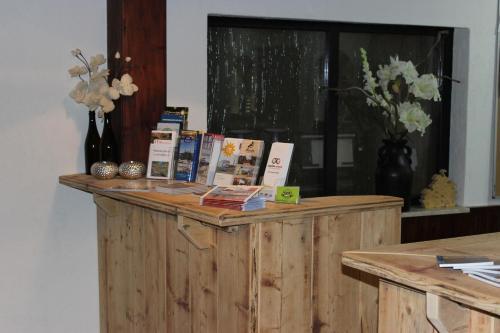 "The lobby or reception area at Hotel Cafe Restaurant ""De Klok"""