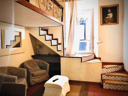 A seating area at H ton 10 appartamento con terrazza