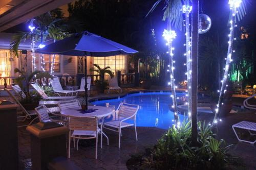 The swimming pool at or near Coral Reef Guesthouse