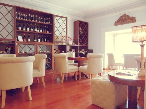 The lounge or bar area at Casa da Se