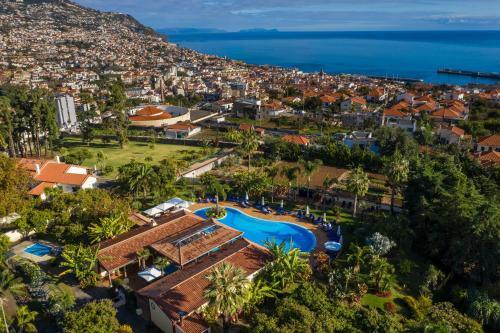 A bird's-eye view of Quinta Jardins do Lago