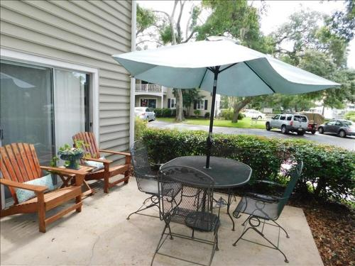 A porch or other outdoor area at Ocean Walk Resort 2 bdrm Townhome MGR American Dream