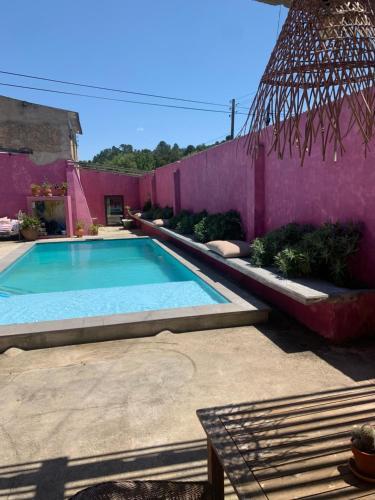 A piscina em ou perto de São Miguel House , Casa do Carvalhal