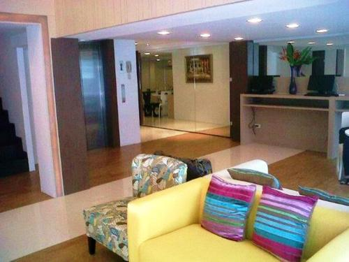 The lobby or reception area at Nantra Silom