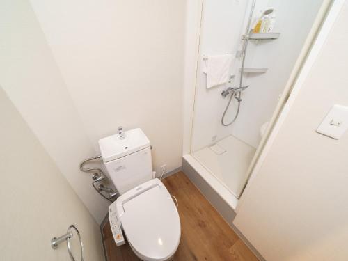 A bathroom at Super Hotel Kyoto Shijokawaramachi