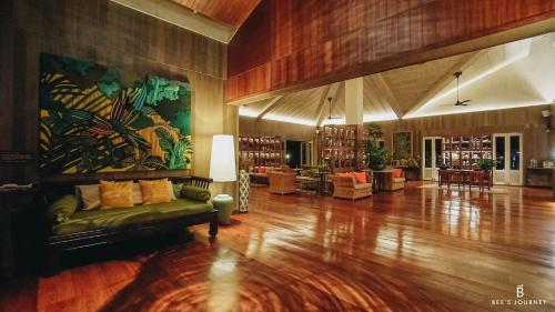 The lobby or reception area at The Tongsai Bay