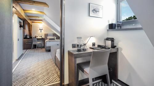 A kitchen or kitchenette at Michaelson Boutique Hotel