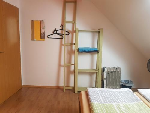 A bunk bed or bunk beds in a room at Thirsty River Rooms