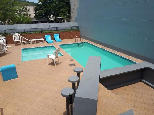 The swimming pool at or close to Hotel Colon Palace