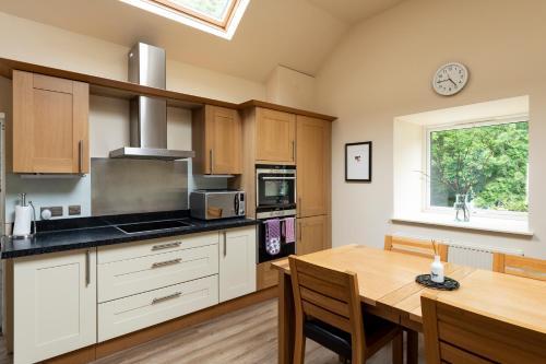 A kitchen or kitchenette at Isle of Eriska Hotel Spa & Golf