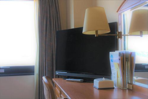 A television and/or entertainment center at Hotel Kinsuien