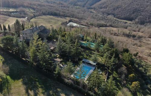 Vista aerea di PoloTuristicoUmbria Antico Casale 700