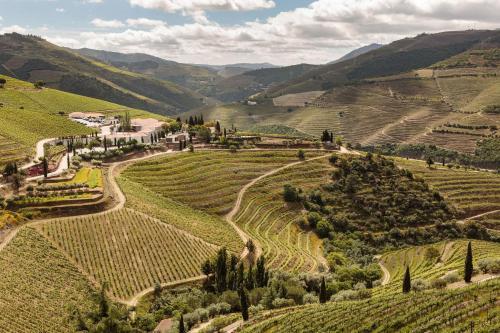 A bird's-eye view of Quinta Nova Winery House - Relais & Châteaux