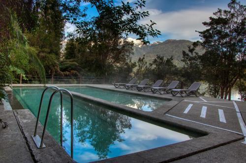 Piscina en o cerca de Puyuhuapi Lodge & Spa