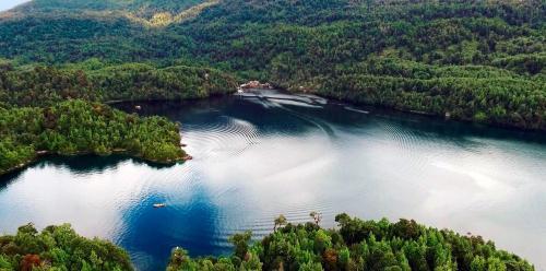 Puyuhuapi Lodge & Spa a vista de pájaro